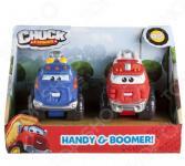Набор машинок игрушечных Chuck & Friends «Хэнди и Бумер»