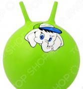 Мяч-попрыгун Star Fit GB-401 «Слоненок» с рожками зеленый