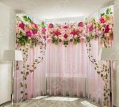Фототюль ТамиТекс «Счастье роз»