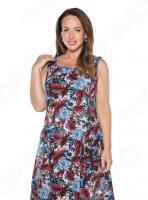 Платье Алтекс «Варенька». Цвет: бордовый