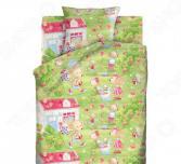 Детский комплект постельного белья Непоседа «Мышкин дом»