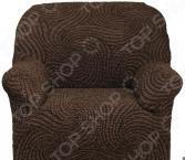 Натяжной чехол на кресло Еврочехол «Этна. Корсика»