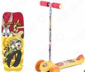 Самокат трехколесный 1 Toy Looney Tunes