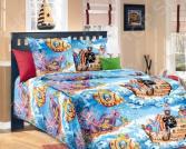 Комплект постельного белья ТексДизайн «Пираты». 1,5-спальный