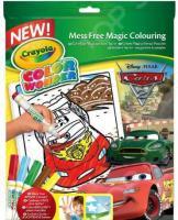 Раскраска с фломастерами Crayola «Тачки»