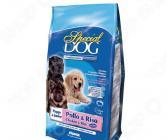 Корм сухой для щенков Monge Special Dog Puppy and Junior Chicken & Rice