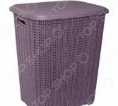 Корзина для белья Violet 2060 «Вязь»