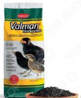 Корм для насекомоядных птиц Padovan Valman black pellets с активированным углем и овощами