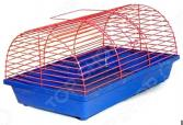 Клетка для грызунов ZOOmark полукруглая без этажа. В ассортименте