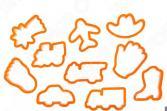 Набор форм для выпечки печенья Agness 710-334