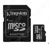 Карта памяти с адаптером Kingston SDCIT/16GB