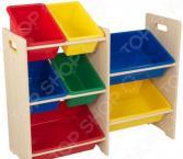 Система для хранения игрушек KidKraft с 7 контейнерами 15470_KE
