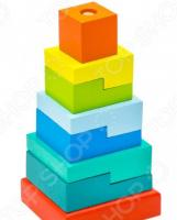 Игрушка-пирамидка Alatoys «Ступеньки»