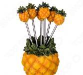Набор для канапе: подставка и 6 вилочек Lefard 390-1195