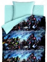 Детский комплект постельного белья 4You Neon «Орки»