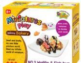 Набор для лепки Doner Land Miniatures Play «Сладкие вафли»