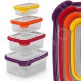 Набор контейнеров для хранения продуктов Joseph Joseph Nest 4