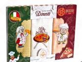 Комплект из 3-х кухонных полотенец Dinosti «Пицца»
