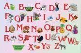 Настольное покрытие Бюрократ BDM2102E «Алфавит»