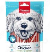 Лакомство для собак Wanpy «Курица с треской в форме сэндвича»