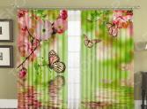 Фотошторы МарТекс 02-0107-1. Тип ткани: габардин