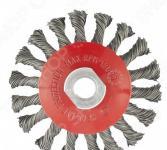 Щетка для УШМ MATRIX М14, «Тарелка», крученая проволока