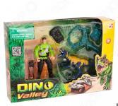 Набор игровой Chapmei «Динозавр Мегалозавр и ловец динозавров»