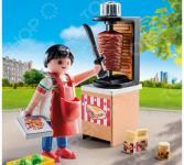 Конструктор игровой Playmobil «Экстра-набор: Продавец кебабов»