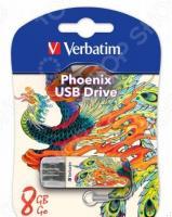 Флешка Verbatim Store 'n' Go Mini Tattoo Phoenix 8Gb