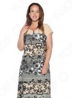 Платье Лауме-Лайн «Сердечные тайны». Цвет: бежевый