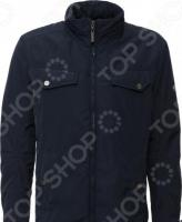 Куртка Finn Flare B16-22008. Цвет: темно-синий