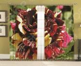 Комплект фотоштор с подхватами МарТекс «Микс Роз»