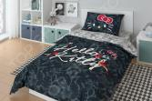 Детский комплект постельного белья Hello Kitty Tropic Black