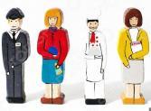 Набор фигурок игрушечных PAREMO «Профессии»