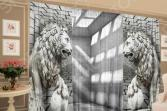 Фотокомплект: тюль и шторы ТамиТекс «Барельеф плоскости»