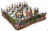 Набор для игры в шахматы «Кошки и собаки» 765-005