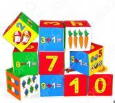 Кубики обучающие мягкие Мякиши «Умная математика»