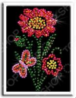 Мозаика из пайеток Волшебная мастерская «Цветочек»