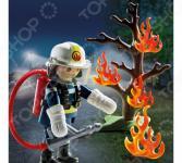 Конструктор игровой Playmobil «Экстра-набор: Пожарник с деревом»