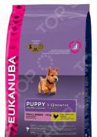 Корм сухой для щенков мелких пород Eukanuba Puppy Small Breed
