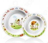 Набор из 2-х глубоких тарелок PHILIPS AVENT SCF 708/00