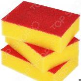 Набор губок для мытья посуды Хозяюшка «Мила: Люкс». В ассортименте
