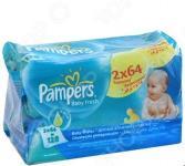 Салфетки влажные - сменный блок PAMPERS Baby Fresh Duo