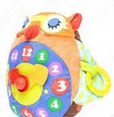 Мягкая игрушка развивающая K'S Kids «Часы-Сова»