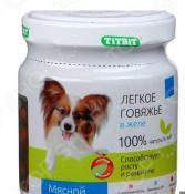 Корм консервированный для собак TiTBiT с легким говяжьим в желе