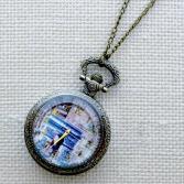 Кулон-часы Mitya Veselkov «Триумфальная арка»