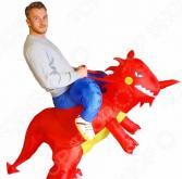 Костюм надувной Просто-Полезно «Красный дракон»