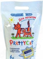 Наполнитель для кошачьего туалета PrettyCat Wood Granules