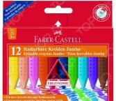 Набор карандашей восковых Faber-Castell Jumbo 122540