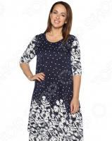 Платье Лауме-Лайн «Волшебный миг». Цвет: синий, белый
